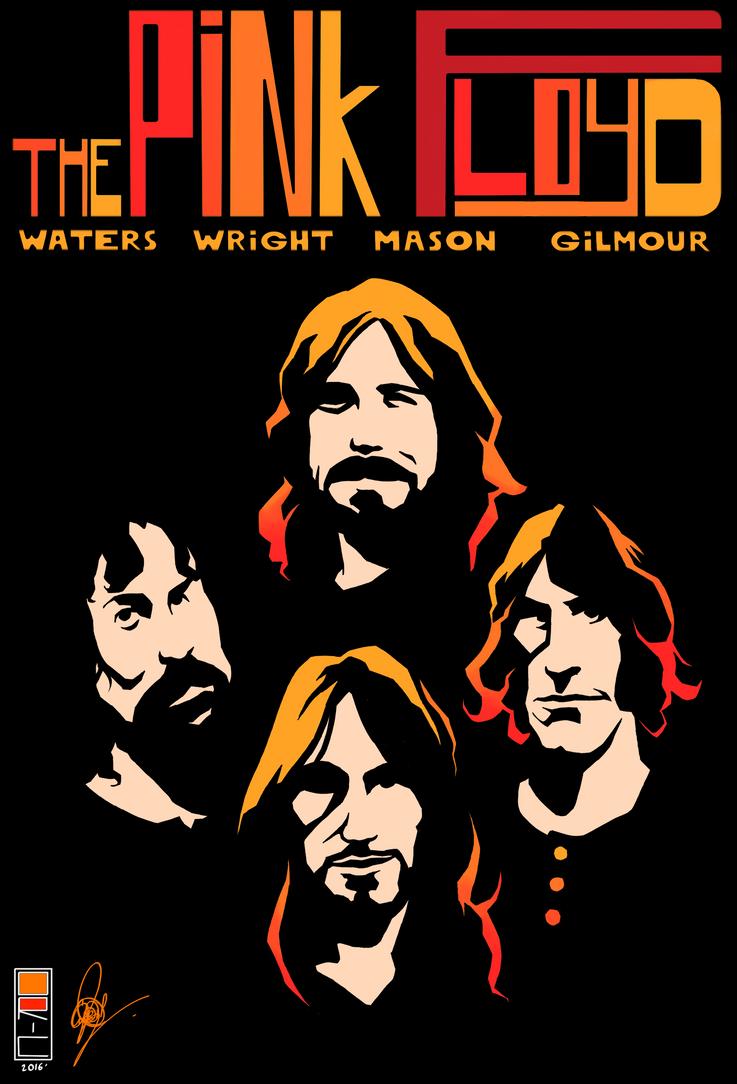 Pink Floyd Tribute by CyrilGlerumArt