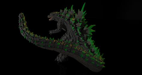 Godzilla Alternate Angle 3