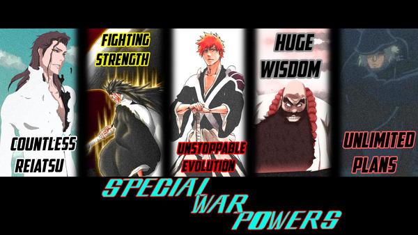 BLEACH - Special War Powers by TechLimitTVeu