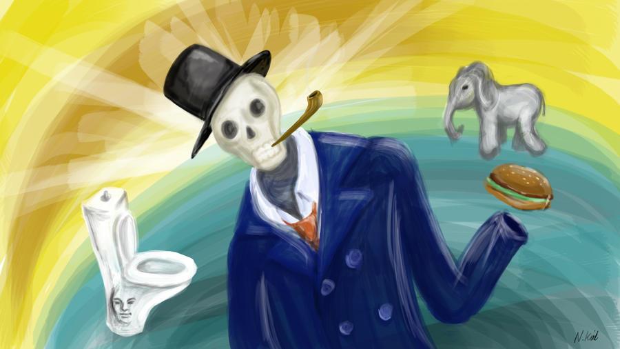 Monsieur Crane de la Mort by Natnie