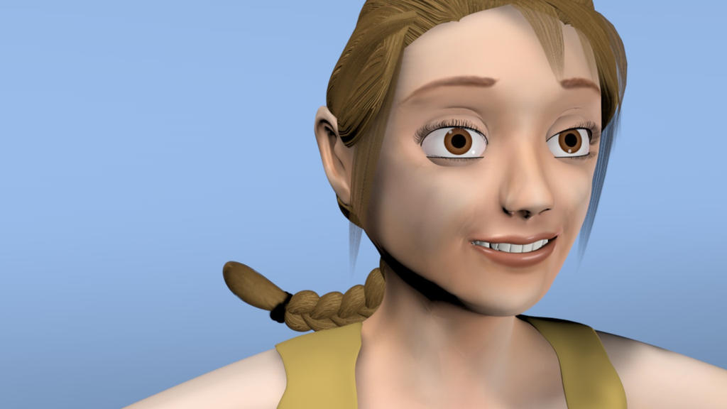 Awkward Smile by Natnie