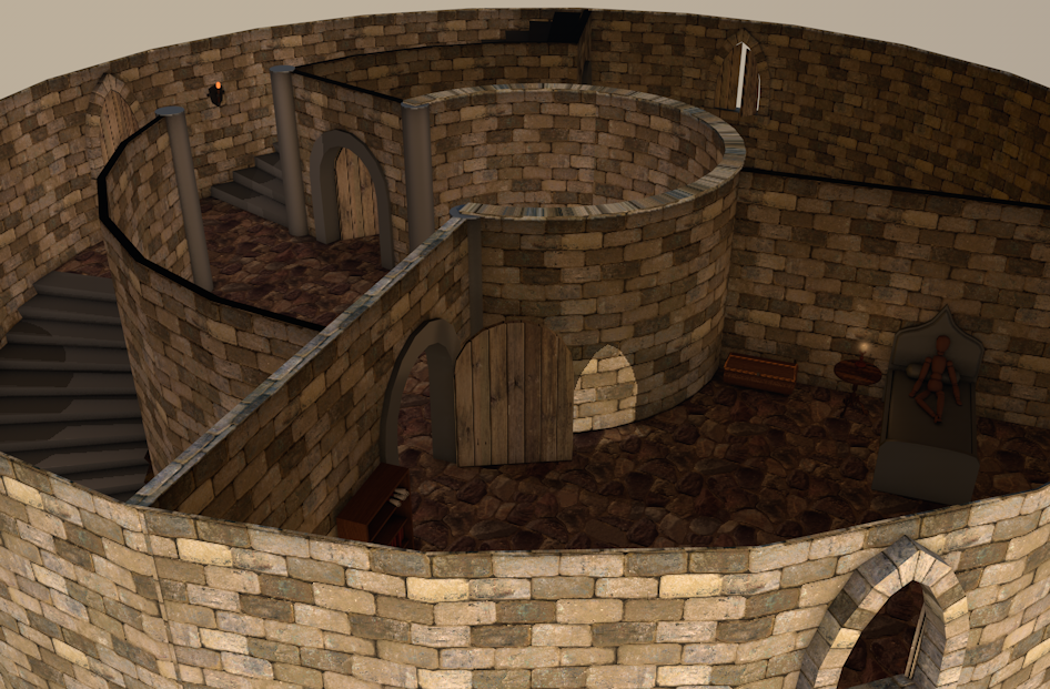 Ather Tower Internal by Natnie