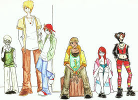 Disney's Recess - high school by Prince-Zaire