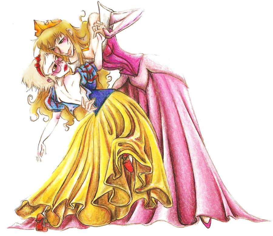Aida and Rhea Cosplay by Prince-Zaire