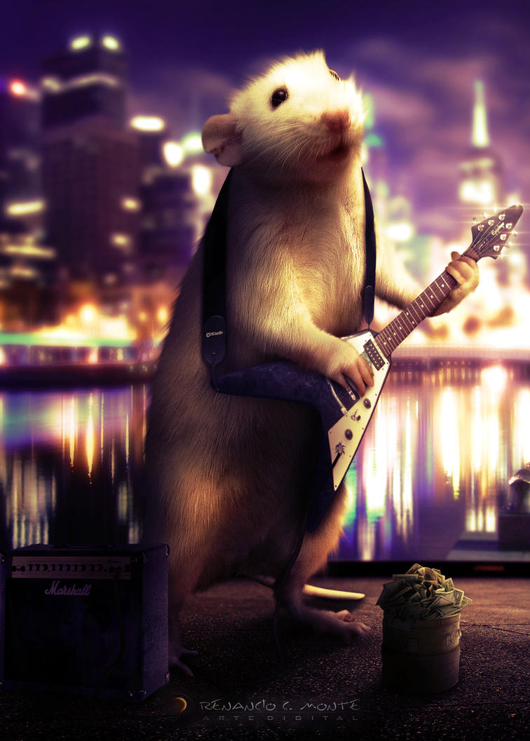 Guitarist Mouse by renanciocmonte