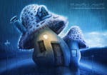 Cottage Mushroom by renanciocmonte