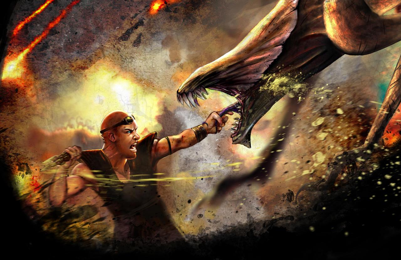 Riddick by AngelitaRamos