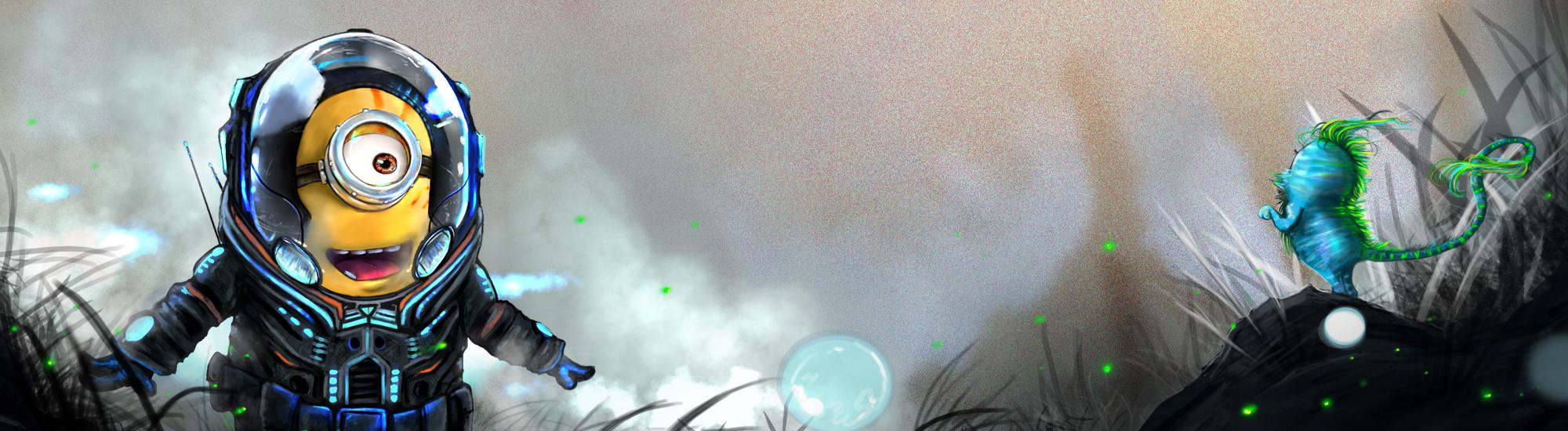 Intergalactic Explorer  Minion by AngelitaRamos