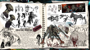 SketchBook: Creating the Wraiths