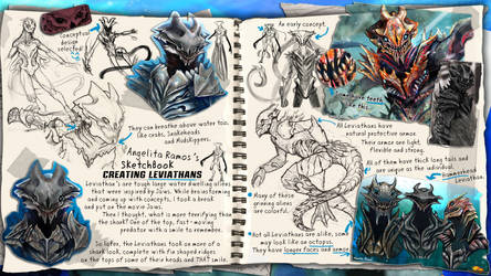 SketchBook: Creating the Leviathans by AngelitaRamos