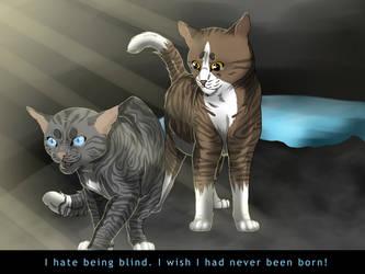 I wish I had never been born! by animalover501