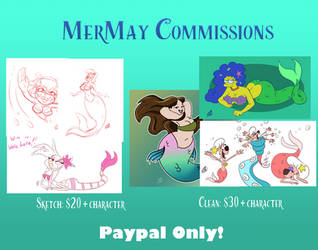 MerMay21 commissions