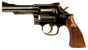 Smith and Wesson Model 15 .38Special Revolver.