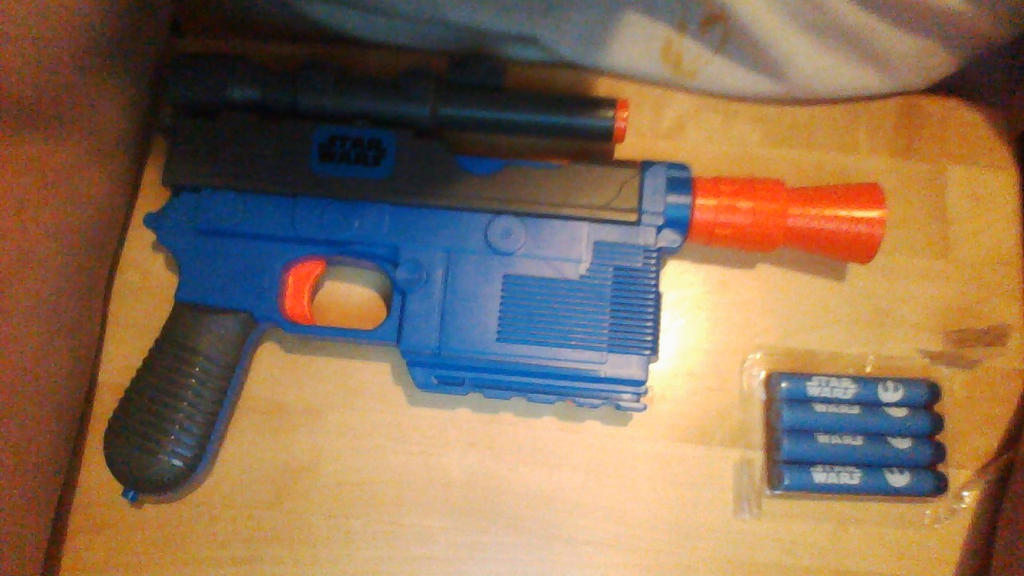 Nerf Star Wars Han Solo Blaster 2nd photo. by guardmn ...