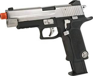 WE-Tech P-Virus P226 GBB Airsoft Pistol. by guardmn