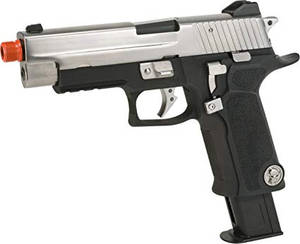 WE-Tech P-Virus P226 GBB Airsoft Pistol.