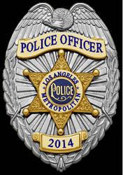 Coreline LAPD Badge