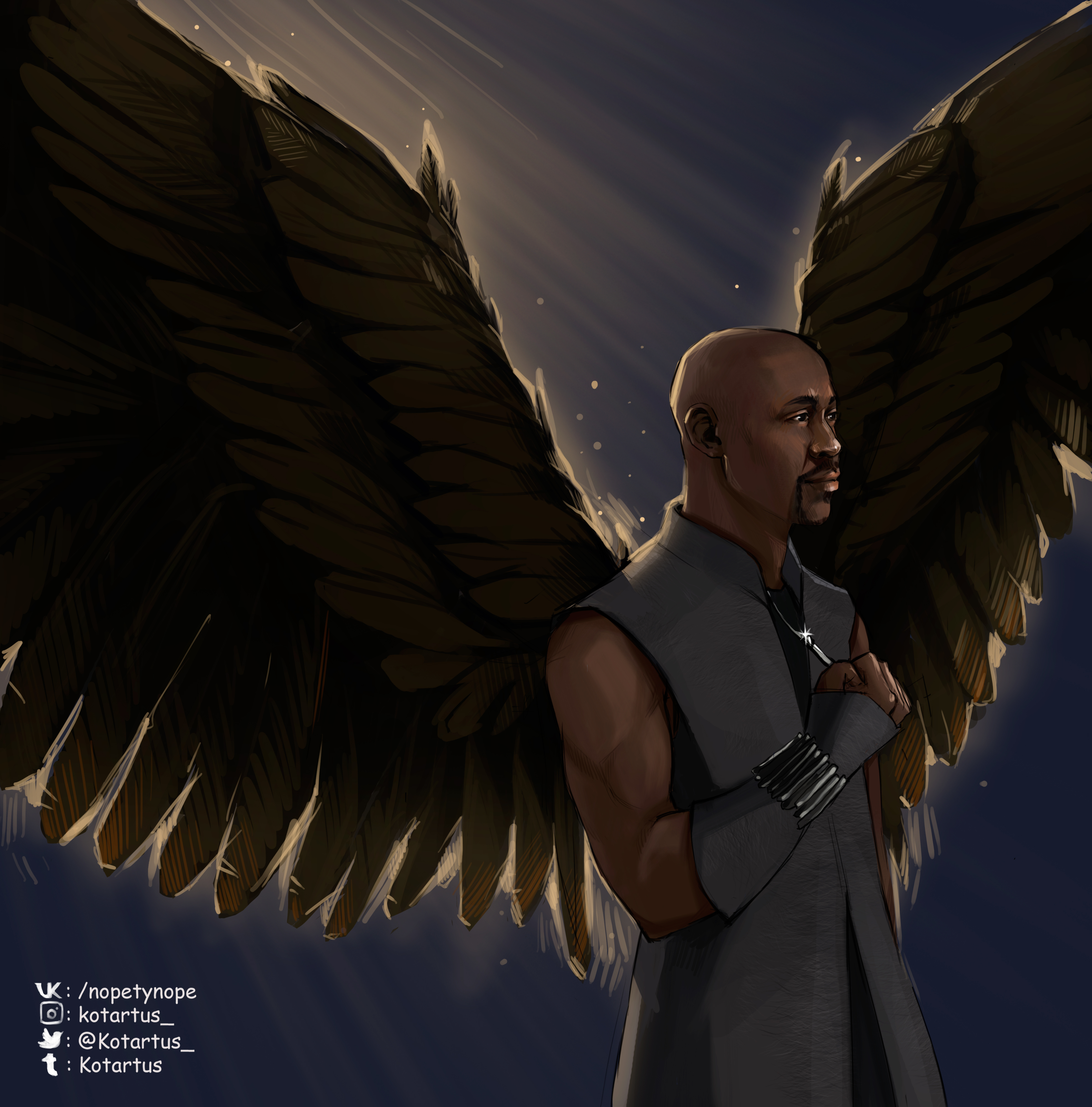 Amenadiel By NopeXKot On DeviantArt