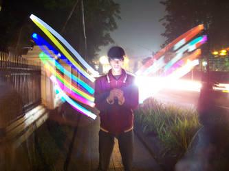 rainbow wing by killythirsk