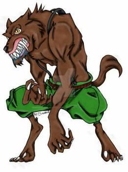 coloured werewolf