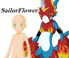 Digimon Base - Flamedramon N you