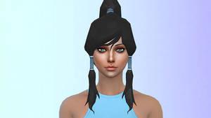Yandere Simulator to The Sims 4: Korra's Hair