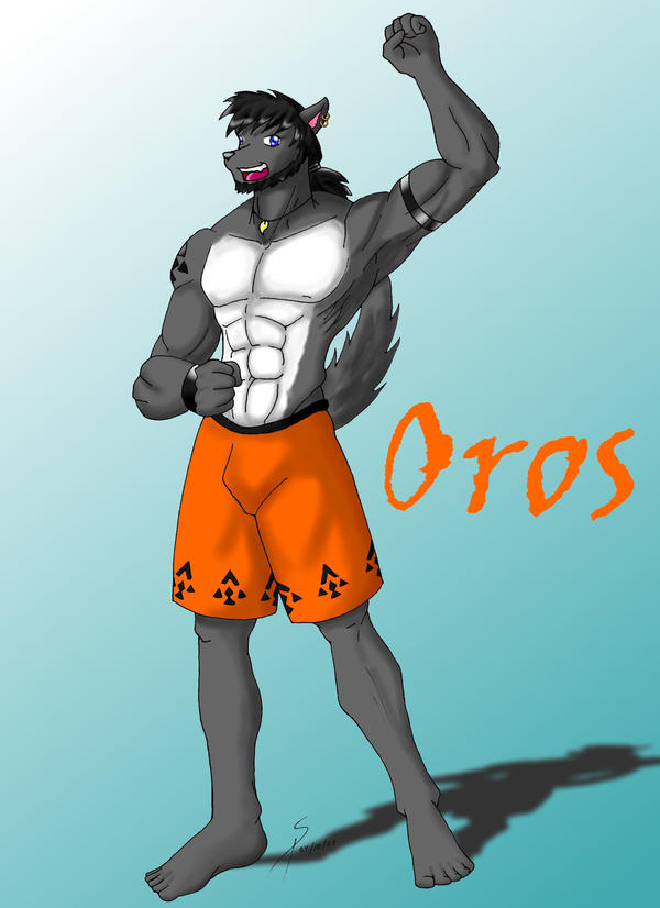Oros the wolf by SirPaulTheIII