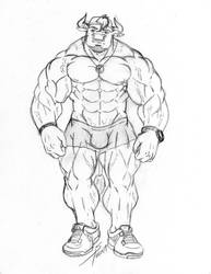 Maiky The Bull Bodybuilder