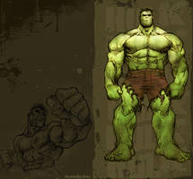 .:hulk:. by double-o-moose