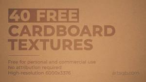 40 Free Cardboard Textures