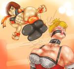 Reiko Kick! by DarKHunTeR91