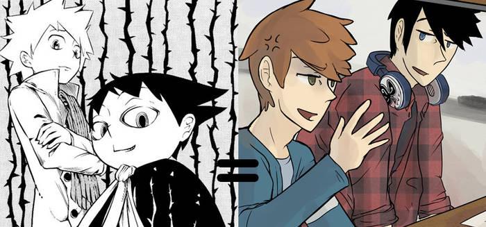 Muhyo and Roji = Adrian and Carter