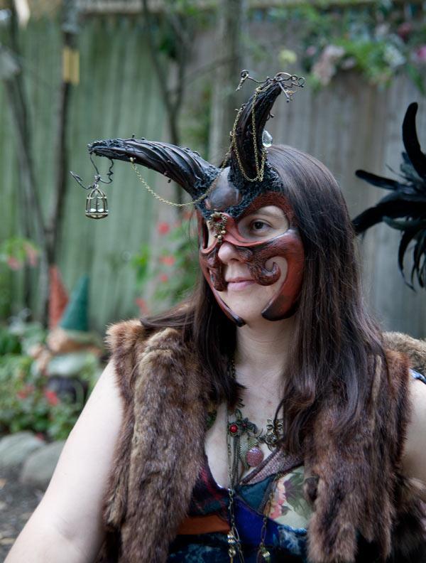 Trinket Goblin Mask by cristarowe