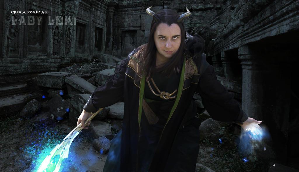 Lady Loki by cristarowe