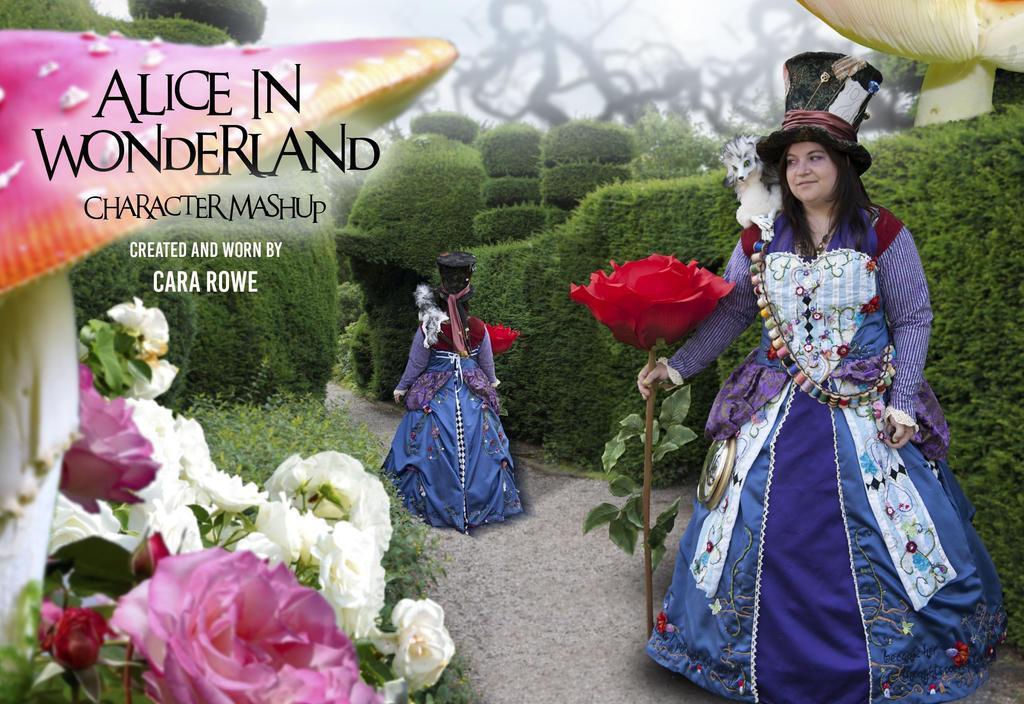 Alice in Wonderland Character Mashup by cristarowe