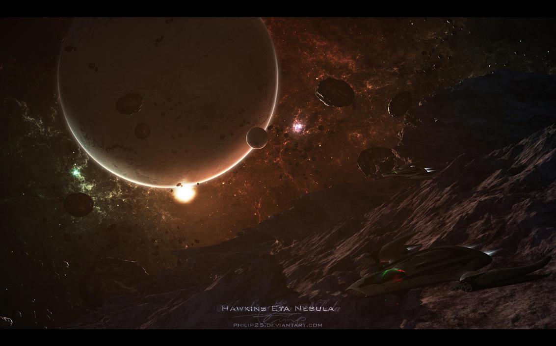 Hawkins Eta Nebula by Philip25
