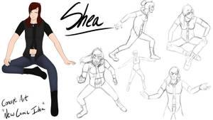Shea Concept Art ((Possible New Comic Idea))