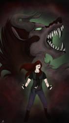 Shea's Demon ( Hybrid Concept Art )