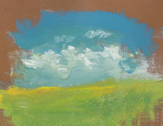 Blue sky by nicho91