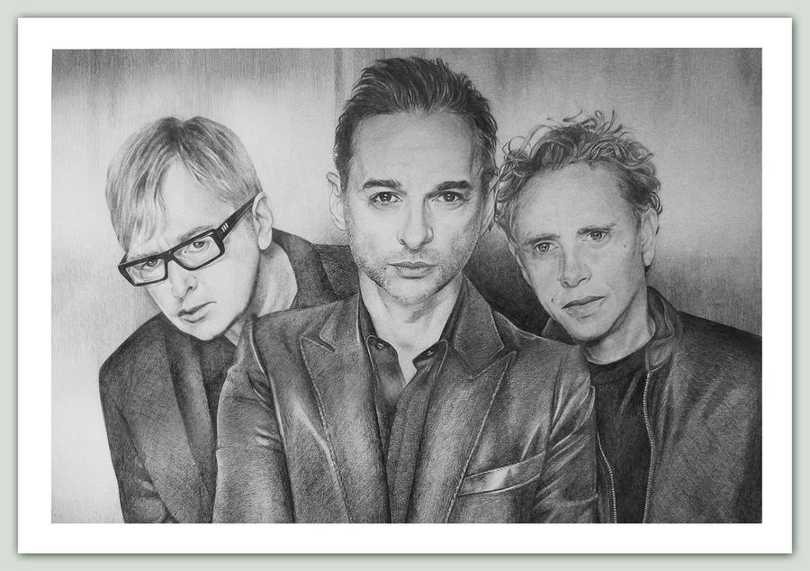 Depeche Mode by Majkan83