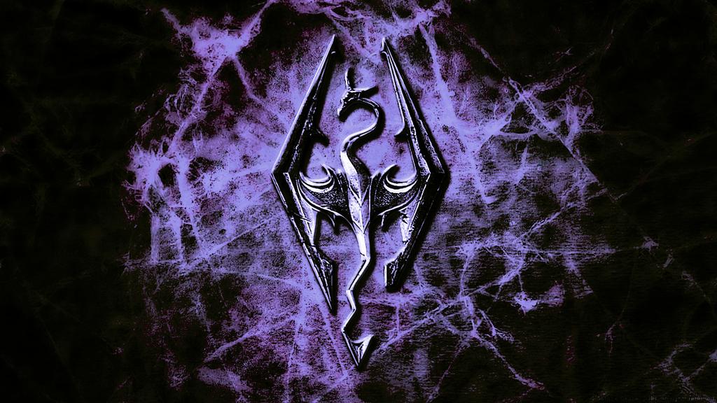 Skyrim dragon logo elder scrolls hd wallpapers 192 by neji687 on skyrim dragon logo elder scrolls hd wallpapers 192 by voltagebd Choice Image