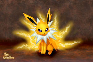 Jolteon [Fan Art][Redraw] by LeyAsakura