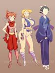 The Three Shinobi by inisipis