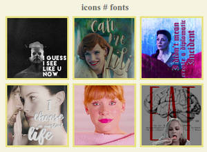 icons # font