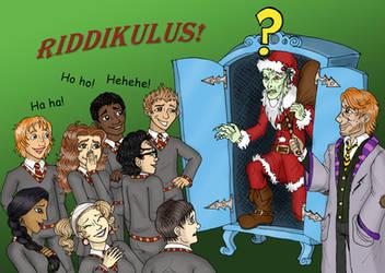 Defense Against Dark Christmas by SandyLeDandy