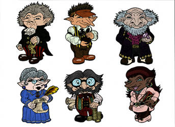 Gringotts Goblins by SandyLeDandy