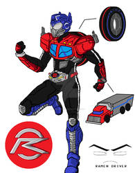 Kamen Rider Drive - Type 'Prime'