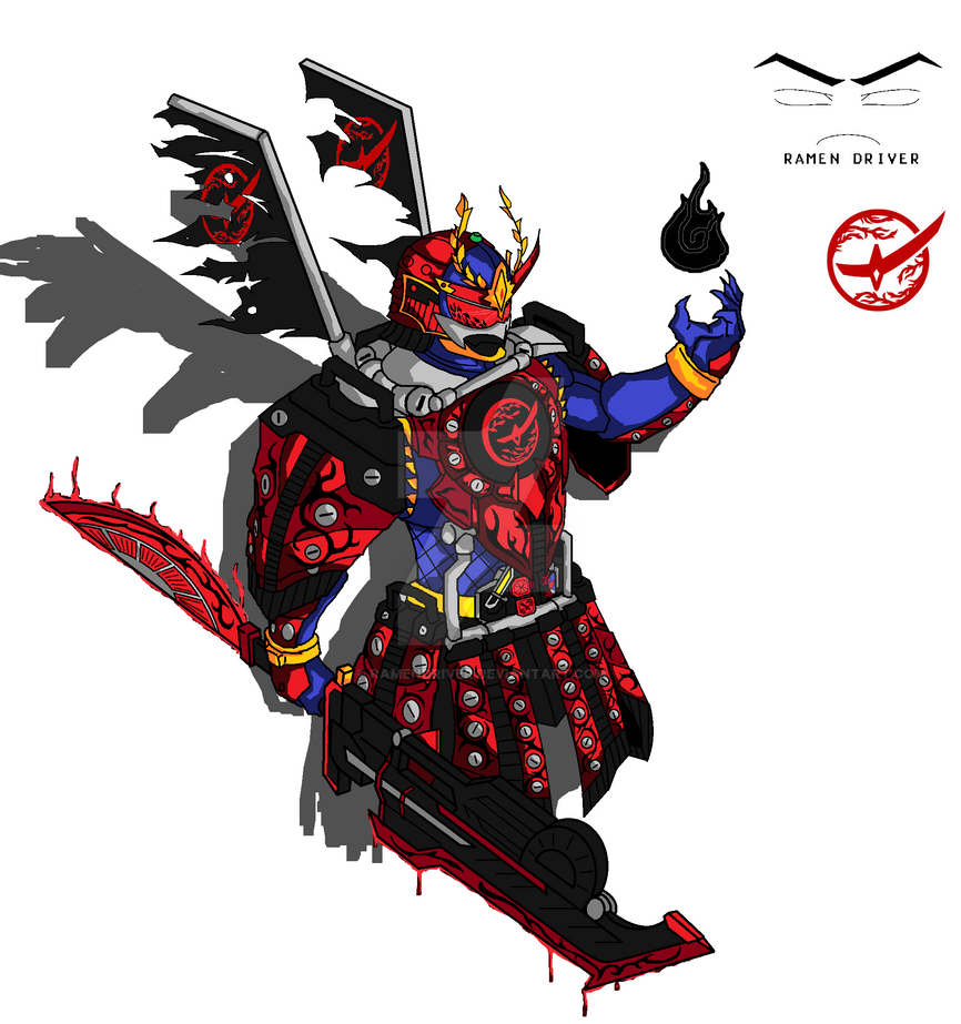 Bujin Gaim Blood Kachidoki Arms! by RamenDriver on DeviantArt