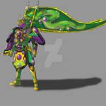 COMMISSION: Kamen Rider Ryugen Kiai Arms V2