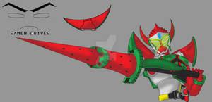 Kamen Rider Baron - Proto Watermelon Arms